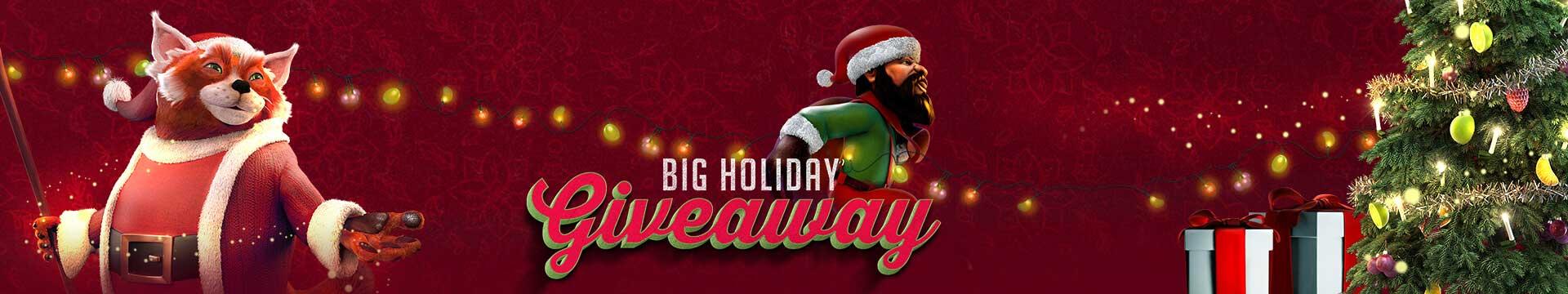 Slider Banner - Big Holiday Giveaway