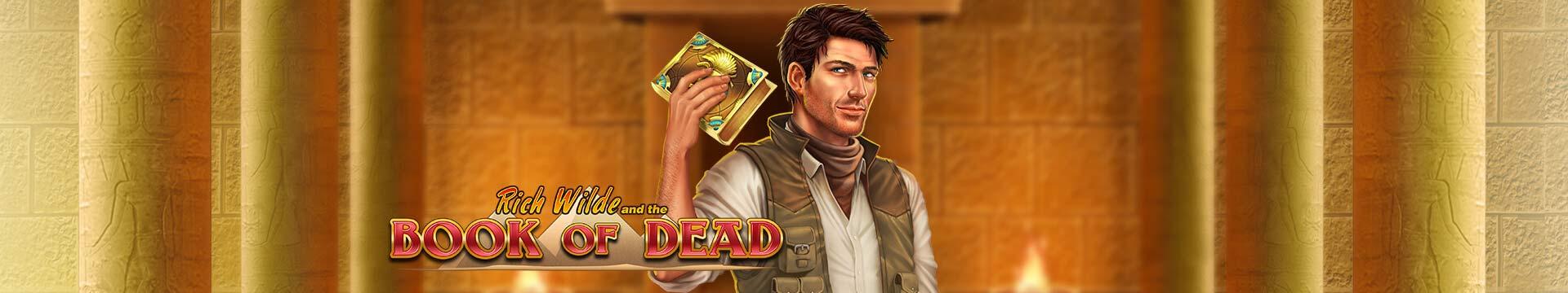 Slider Banner - Book of Dead 2