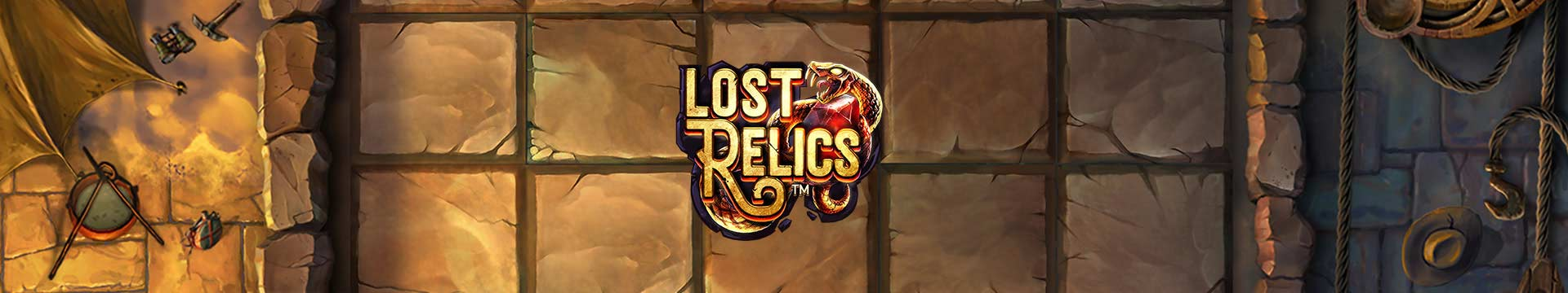 Slider Banner - Lost Relics
