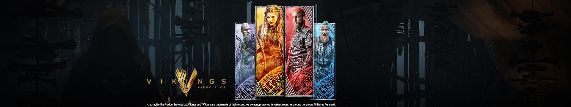 Slider Banner - Vikings